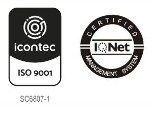 Sello ISO 9001 BANCO DEL PAÍS