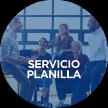 Servicio Planilla